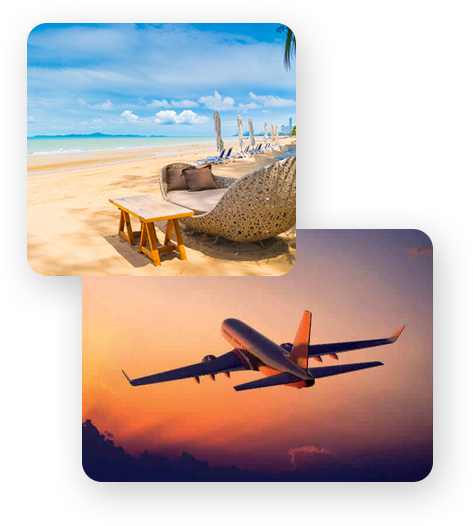 Flight and hotel booking packages